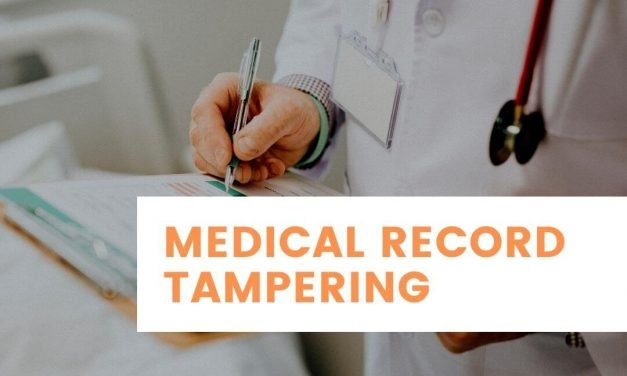 Consequences of Medical Record Tampering in Medical Malpractice Claim?